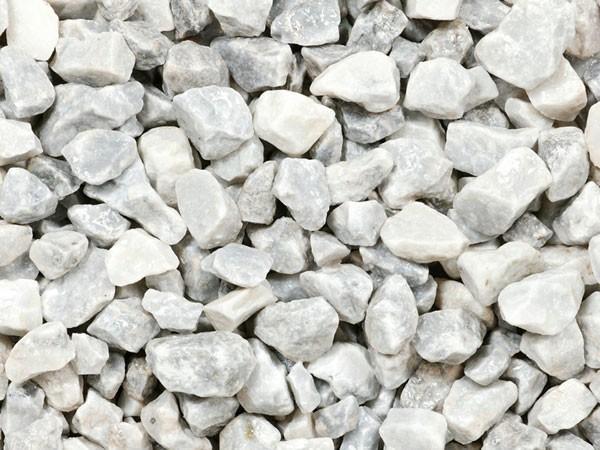 Crushed White Gravel 20mm Preston Landscape Supplies